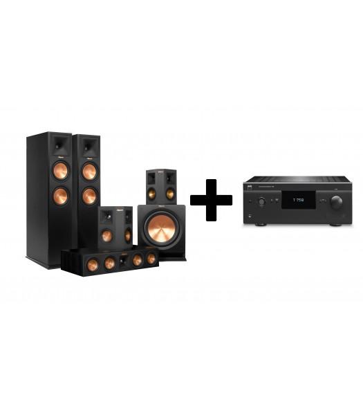 Комплект NAD T758V3 + Klipsch RP-260F Home Cinema System