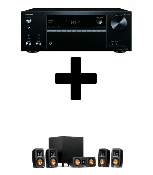Комплект Onkyo TX-NR575E + Klipsch Reference Home Theater Pack