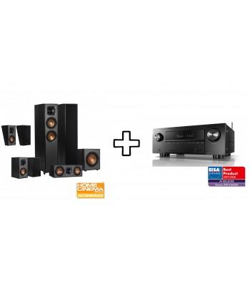 Комплект Denon AVR-X2600H + Klipsch R-620F Dolby Atmos 7.1