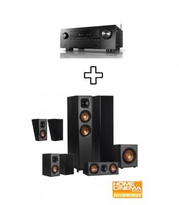 Комплект Denon AVR-X2700H + Klipsch R-620F Dolby Atmos 5.1.2