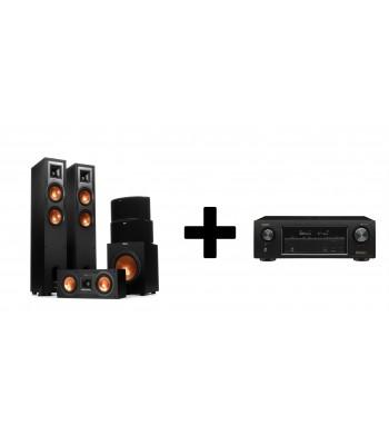 Комплект Denon AVR-X1400H + Klipsch R-26F Home Cinema System