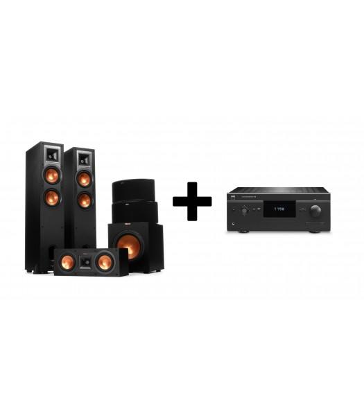 Комплект NAD T758V3 + Klipsch R-26F Home Cinema System