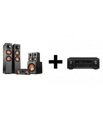 Комплект Denon AVR-X1600H + Klipsch R-820F Home Cinema System