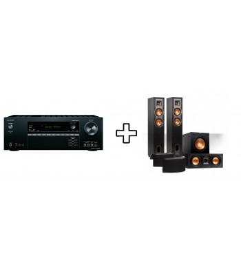 Комплект Onkyo TX-NR575E + Klipsch R-24F Home Cinema System