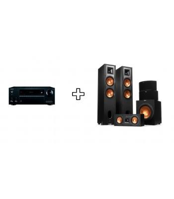 Комплект Onkyo TX-SR676E + Klipsch R-28F Home Cinema System