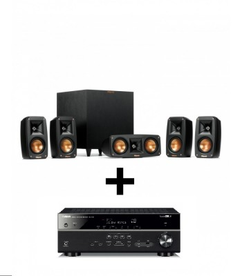 Комплект Yamaha RX-V585 + Klipsch Reference Home Theater Pack