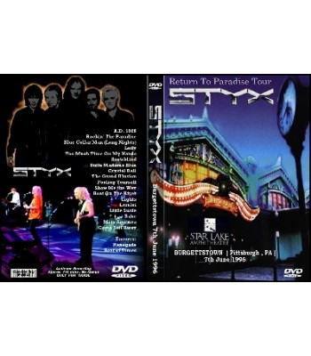 STYX - Return To Paradise DVD