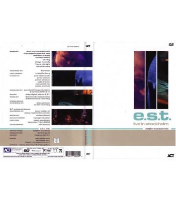 E.S.T - Live In Stockholm DVD