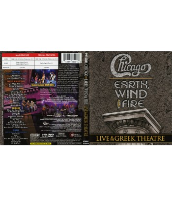 Chicago, Earth,Wind And Fire - Live At The Greek Theatre DVD