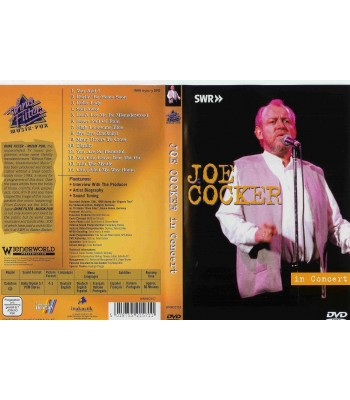 Joe Cocker - In Concert DVD
