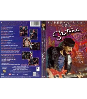 Santana - Supernatural Live DVD