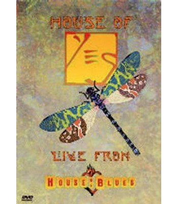 Yes: House Of Yes - Live At The House Of Blues DVD