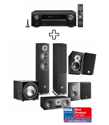 Комплект Denon AVR-X1600H + Dali Oberon 5 5.1.2 Dolby Atmos pack